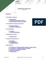 Certexams.com Network Simulator for CCNA CCNAV12.2 Labs CCNA-Manual