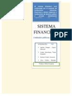 Importancia Del Sistema Financiero