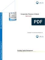 CFA Level 1 Corporate Finance E Book - Part 3