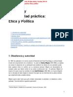 La filosofía y la racionalidad práctica_ Ética y Política (Teoría)