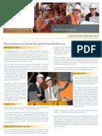 Oil-Gas Capital Project Management