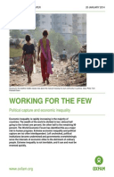 Working for the Few: Political capture and economic inequality