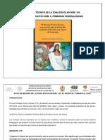 Ruta de mejora, educación primaria Zona Esc. Núm. 135 Corregida y Actualizada. Enero de 2014.