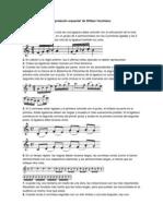 Las 'Reglas para la interpretación orquestal' de William Vacchiano