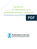 CSR SPENDING ESTIMATES