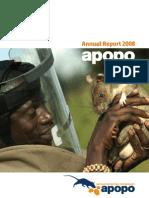 Apopo Annual Report 2008