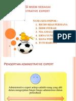 Fungsi MSDM administratif