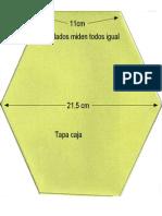 Caja Exagonal