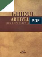 Ghidul Arhivelor R.moldova