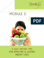 5 Easy Dietary Tips for Effective and Lasting Weight Loss