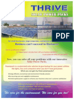 Thrive Energy Solar Power Pack