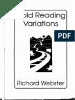 Richard Webster-Cold Reading Variations