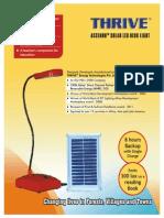 Thrive Energy Desk Light