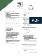 Kimia Exam f4-Part A