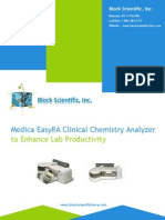 Medica Easyra Clinical Chemistry Analyzer to Enhance Lab Productivity