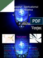 Transumanismul . Spiritualizmul Tehnologic Si Bioetica
