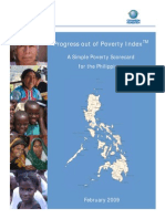 Design Documentation Memo for Philippines 2009