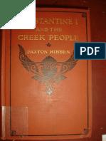 ΠΑΧΤΟΝ ΧΙΜΠΕΝ PAXTON HIBBEN ΚΩΝΣΤΑΝΤΙΝΟΣ ΚΑΙ ΕΛΛΗΝΙΚΟΣ ΛΑΟΣ ΕΛΛΗΝΙΚΗ ΜΕΤΑΦΡΑΣΙΣ