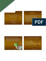 Microsoft Powerpoint - Basics Critical Appraisal