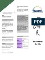 DK6 Digital Telephone Bluetooth User Guide