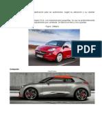 automóviles clasificacion utilitario, compacto