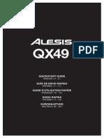 Alesis Qx49 Usb Midi Contro de en Fr It