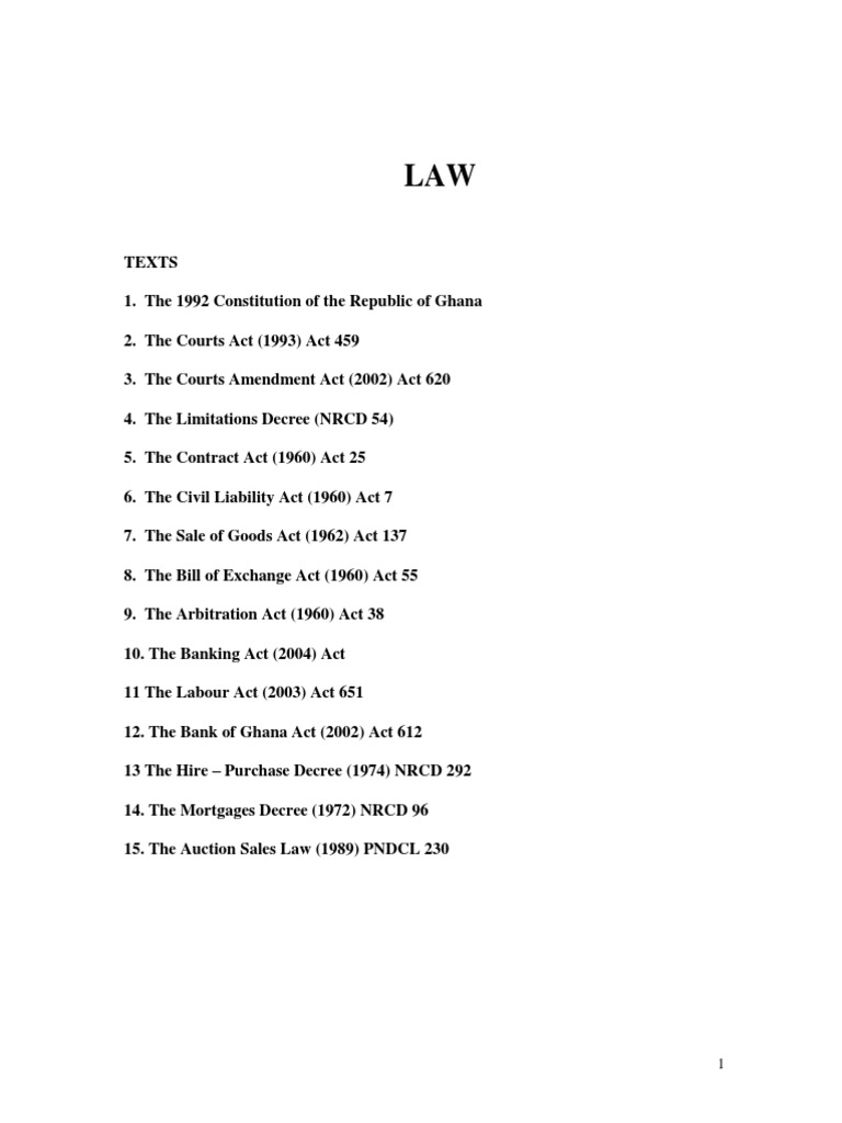 Great Law Lectures | Precedent | Equity (Law)