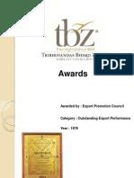 TBZ Awards Revised