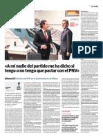 Entrevista en El Correo (20131201)