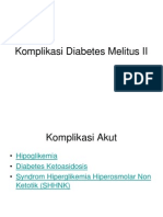 Komplikasi Diabetes Melitus II