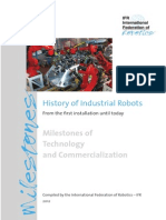 History of Industrial Robots
