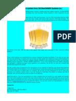 Draft Beer Flow Meter