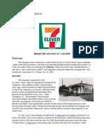 7-11 marketing history