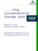Coaching Conversations for Change Part 1