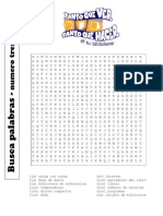 Word Search Span 3