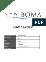 D2.2 - Boma Algorithms