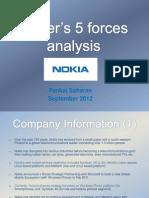 Nokia 5 Forces Analysis