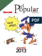 El Popular 2013 Anuario