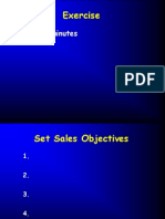 5 Sales Objectives