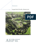 Conservation Statement for Farleigh Hungerford Castle, Somerset, UK.