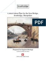 Conservation Management Plan for the Iron Bridge, Ironbridge, Shropshire, UK