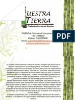 Catalogo Nuestra Tierra 2013