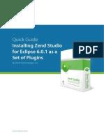 Installing Zend Studio for Eclipse
