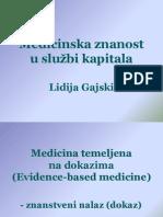 Medicinska znanost u sluzbi kapitala