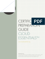Certification Preparation Guide Cloud Foundation