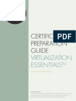 Certification Preparation Guide Virtualization Foundation
