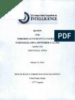 Senate Intelligence Committee Report on Benghazi (Sept. 11-12, 2012)