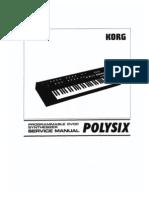 Korg Polysix Service Manual
