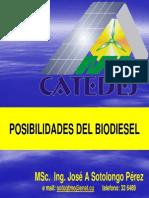 Biodiesel de Jatropha