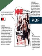 Haim NME Cover Analysis
